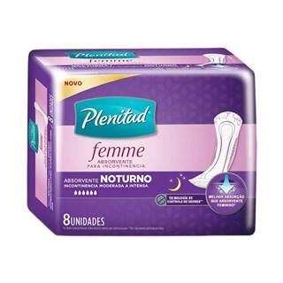 Absorvente Plenitud Femme Noturno  -