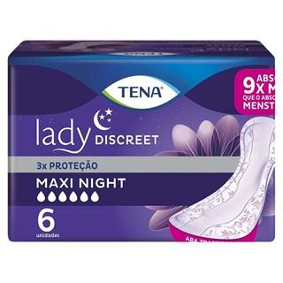 Absorvente Tena Lady Maxi Night