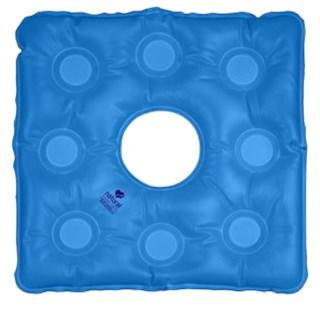 Almofada Quadrada Com Orifício - Ar Ou Água