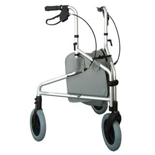 Andador Com 3 Rodas E Porta Objetos
