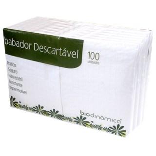 Babador Impermeável Descartável - 100 unidades