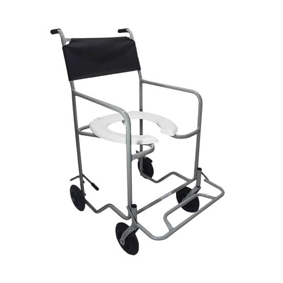 Cadeira De Banho Com Apoio Para Pés Eleváveis