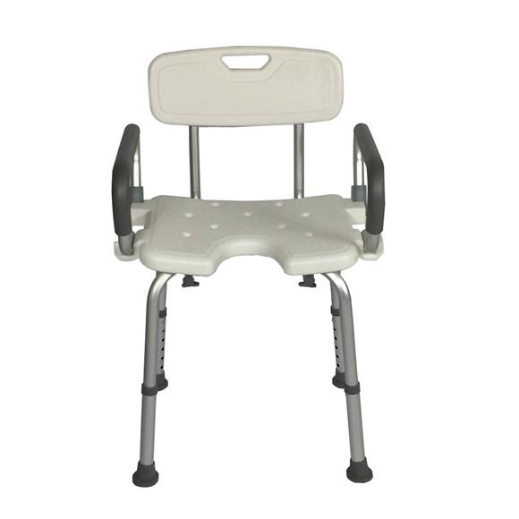 Cadeira de Banho Com Braço Escamoteável