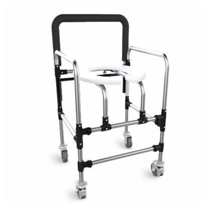 Cadeira De Banho Com Rodas Ortoprox Alumínio