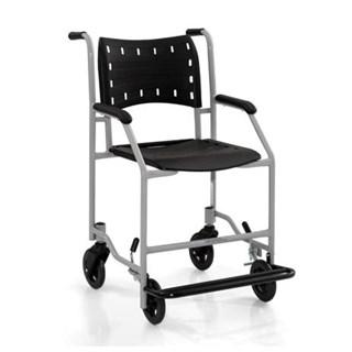 Cadeira de Banho e Rodas - Com Apoio para os Pés