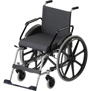 Cadeira de Rodas Taipu J3 Prata