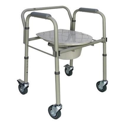 Cadeira para Banho Dobrável em Alumínio