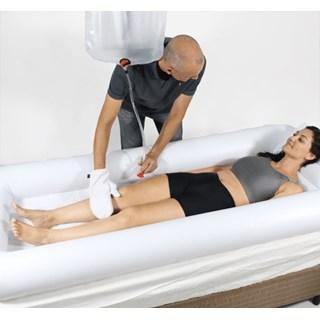 Cama Inflável Para Banho no Leito - Corpo Inteiro