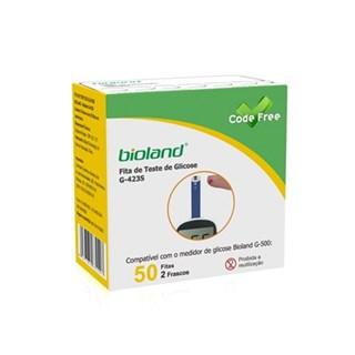 Fita para Glicosímetro - Caixa com  50