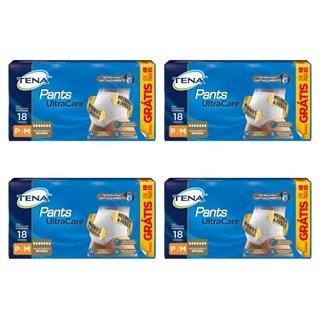 Fralda Tena Pants Ultra - Kit 4 Pacotes