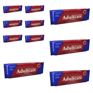 Kit 10 Toalhas Umedecidas Adultcare Premium