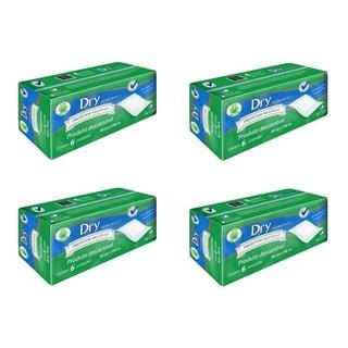 Kit 4 Pacotes Lençol Descartável Dry Economics