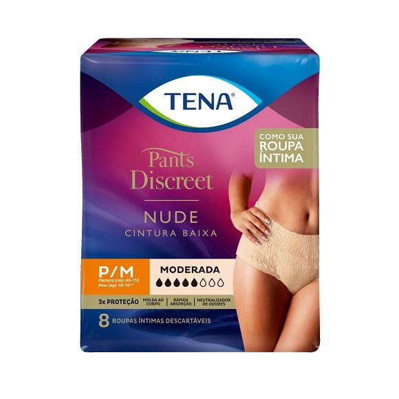 Roupa Íntima Tena Pants Discreet Nude