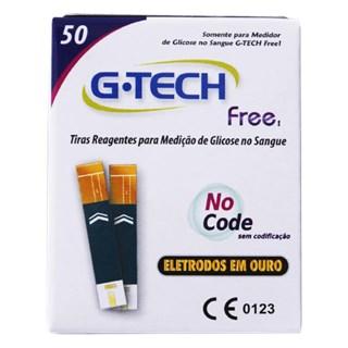 Tiras Regentes Para Medição de Glicose G-Tech Free